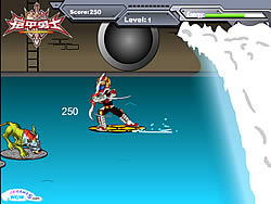Armor Hero Water Pursuit game
