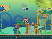 Juega al juego gratis Sponge Bob and Patrick:Dirty Bubble Busters