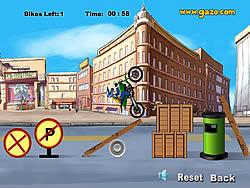 Motorcycle Fun game