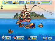 Game Defend Fish Boat