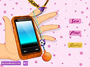 Mobile Phone Decoration