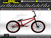 Custom BMX Painter spel