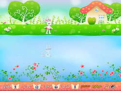 Bunny Mirrored Jump game