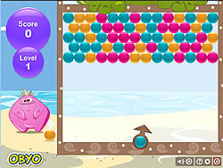 Bubble Monster game