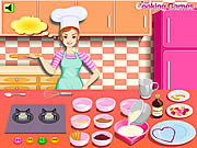 Barbie Cooking: Valentine Blancmange game