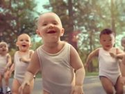 Watch free video Evian Video: Roller Babies