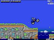 Super Sonic Motorbike game