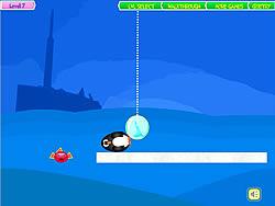 Penguins Fun Fall game