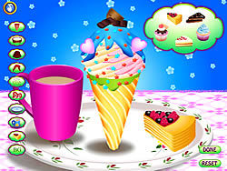 Ice Cream Cone Fun game