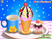 Juega al juego gratis Ice Cream Cone Fun