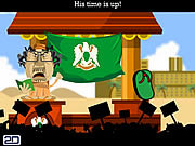 Slap Gaddafi game