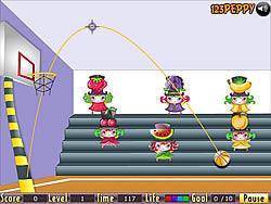 High Hoop game