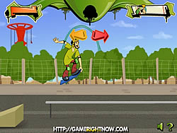 Scooby Doo Skate Race game