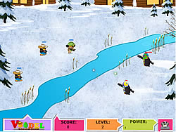 Penguin Combat game