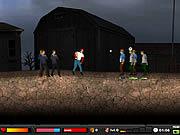 Juega al juego gratis Zombie Baseball 2