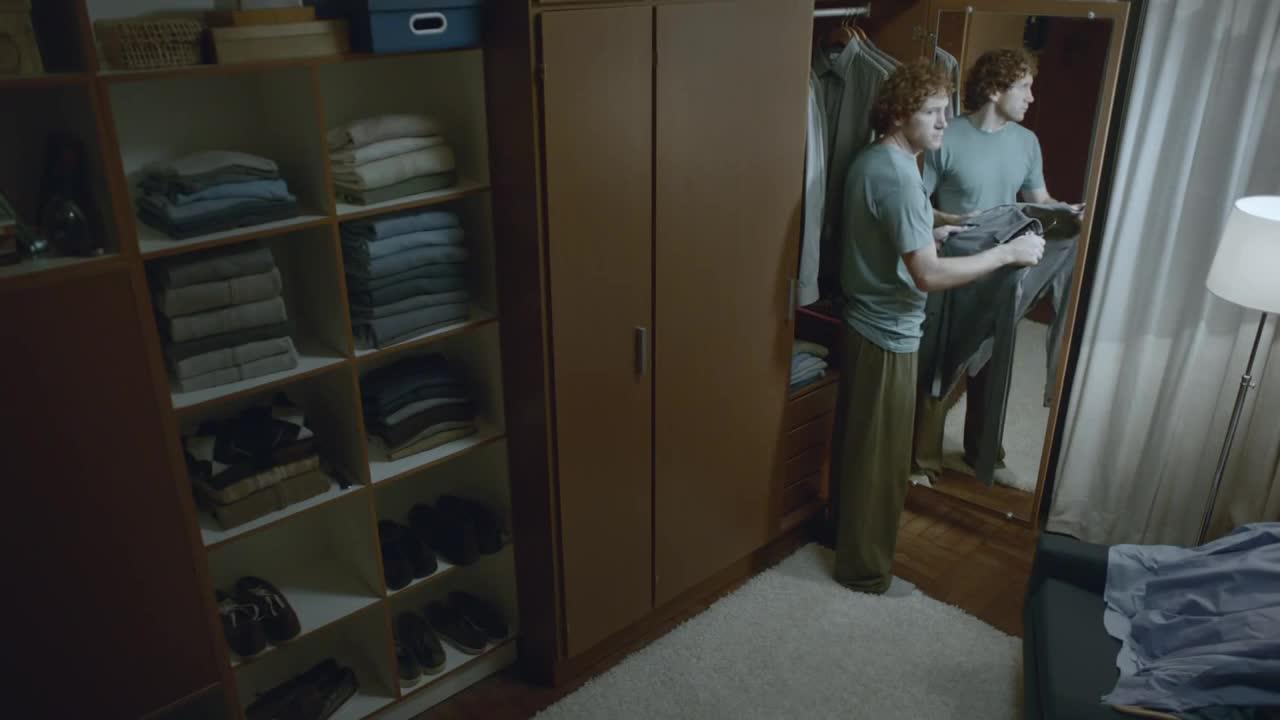 Watch free video Volkswagen Commercial: Closet