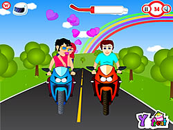 Riding On Kiss game