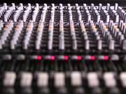 Watch free video Mixing Desk Pull Focus in Macro View
