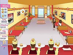 Unfabulous Burger Bustle game