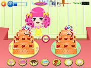Cake Deco Contest game