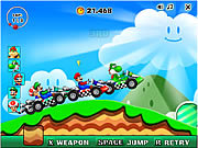 Super Mario Racing game