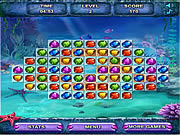 Juega al juego gratis Sea Treasure Match