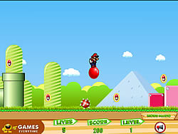 Bouncing Mario game