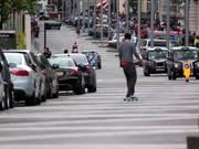 Watch free video Skateboarding in the Road