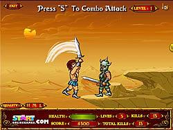 Epic Warrior game