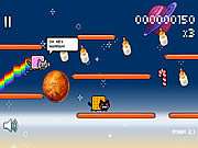 Juega al juego gratis Nyan Cat: Lost in Space