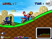 Mario Vs Sonic Racing game