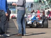 Mira dibujos animados gratis Race Cars Leaving Grid