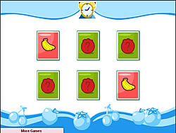 Fruit Memory game