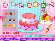 Juega al juego gratis Fruit Strawberry Cake