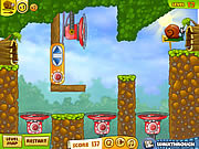 Juega al juego gratis Snail Bob 2