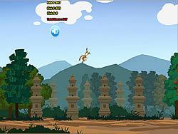 Monkey Kick game