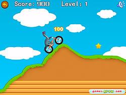 Dinosaur Bike Stunt game