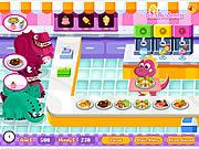 Juega al juego gratis Dino Restaurant