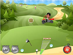 Cheater Golf game