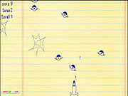 Doodle Galaxy Invaders game