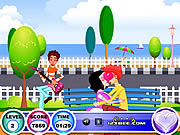 Juega al juego gratis Seaside Kissing