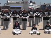 Watch free video Dead Animal Protest Santa Monica on May 31, 2014