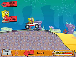 Spongebob's Boat Adventure game