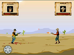 Play Cowboy Duel game online - Y8.COM