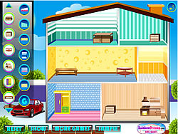 Play doll house game online y8 com for Decor y8