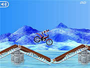 Juega al juego gratis Bike Mania On Ice