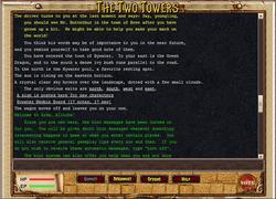 The Two Towers MUD game