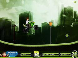 Ben10 Extreme Ride game