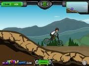 Juega al juego gratis Ben10 BMX Ride