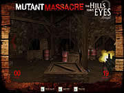 שחקו במשחק בחינם The Hills Have Eyes - Mutant Massacre